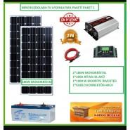 Güneş Enerjisi Hazır Paket1 2KW