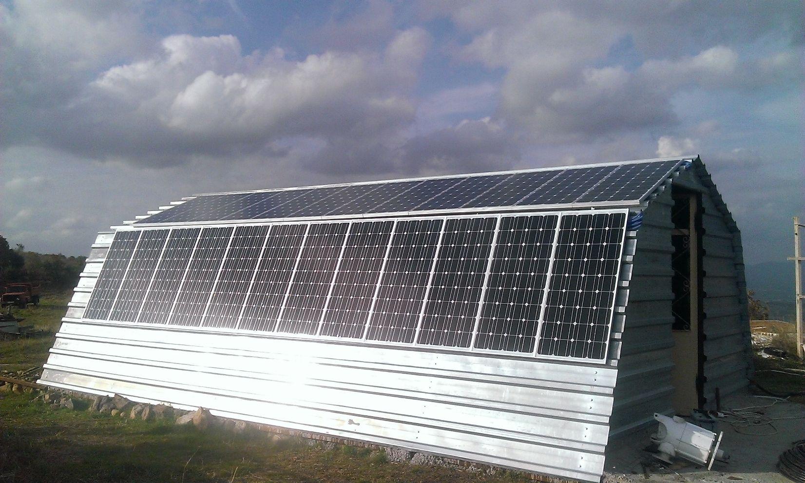 Çanakkale 3,6kw Solar Günes Paneli Enerji Sistemi Uygulamasi